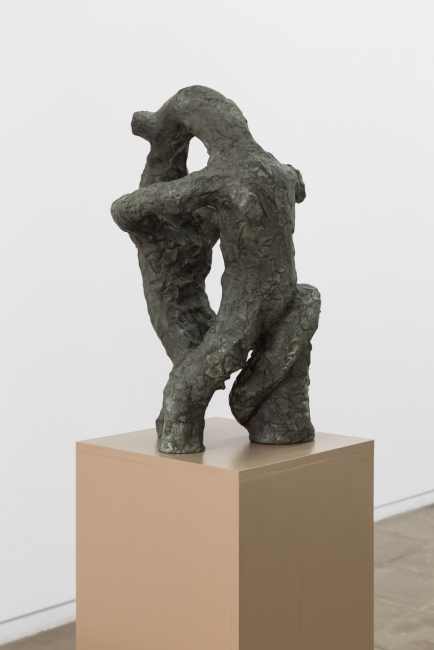 Pedro Wirz | Glyphstters | 2017 Casted bronze | 28cm x 30cm x 51cm (high) | photo credits: Bruno Lopes