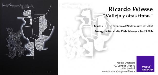 Ricardo Wiesse. Vallejo y otras tintas