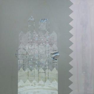 Jesús Velayos, Otoño, 150x150 cm. – Cortesía de la galería Kreisler