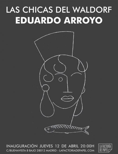 Eduardo Arroyo. Las chicas del Waldorf