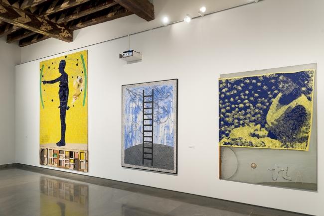 vista parcial de la exposición | Ir al evento: 'Artur Heras. A cent metres del centre del món'. Exposición de Pintura en Fundación Chirivella Soriano / Valencia, España