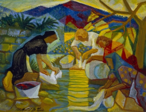 Carlos Maside: Lavandeiras, ca. 1956. Colección Legado Carlos Maside