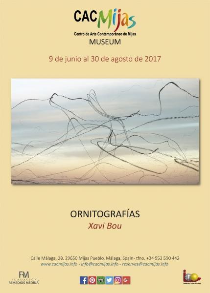 ORNITOGRAFÍAS. Xavi Bou
