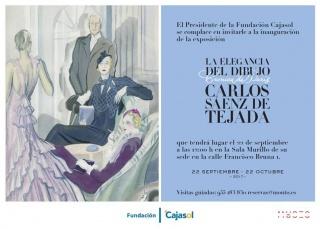 Carlos Sáenz de Tejada. La elegancia del Dibujo. Crónica de París