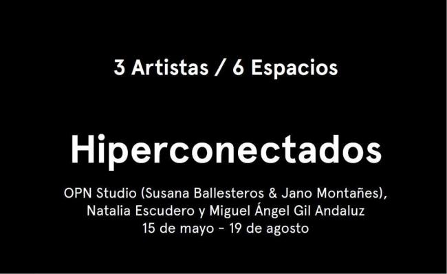 3 artistas, 6 espacios