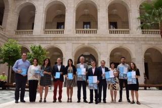 Presentación en rueda de prensa de los XIV Encuentros de Arte de Genalguacil