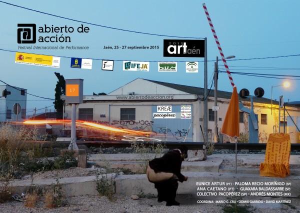 17º Abierto de acción. Festival Internacional de Performance: Jaén