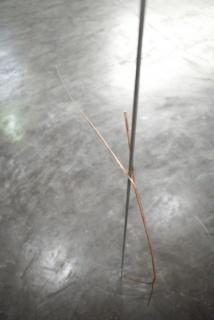 Tatiana Trouvé | La linea // Metal, cobre // Dimensões variáveis // 2011