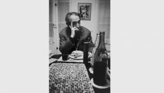 Mário Pedrosa, escritor y crítico de arte brasileño, Meudon (en casa de Alberto Magnelli), 1969 © Alécio de Andrade, VEGAP, Madrid, 2017