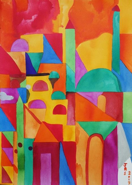Julie Alegre, Rym la gazelle, 2018  – Cortesía de STOA Gallery