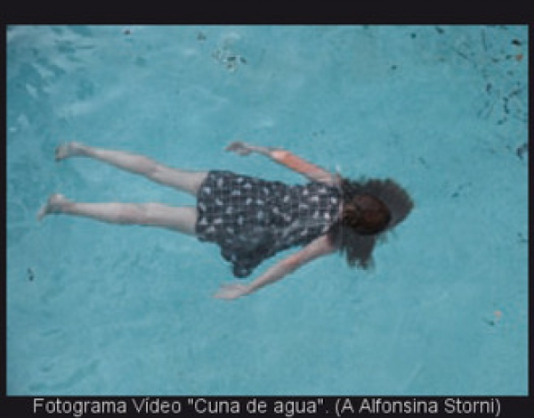 "Paloma Navares, título \""Cuna de agua\"", serie \""Del alma herida\"""