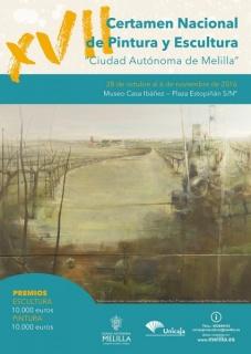 XVII Certamen Nacional de Pintura y Escultura Ciudad Autónoma de Melilla