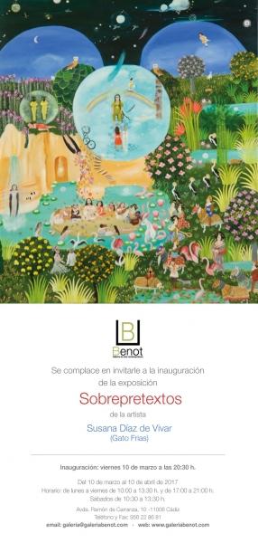 Susana Díaz de Vivar (Gato Frías). Sobrepretextos