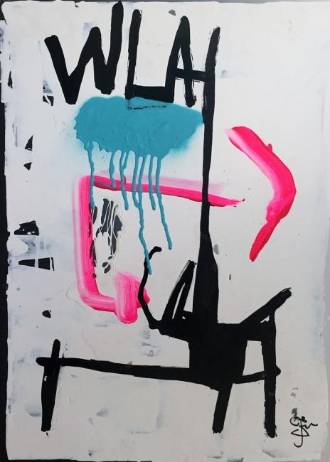 25 WLAH | Ir al evento: '¿Qué pinto aquí?'. Exposición de Arte digital, Escultura, Pintura en Sala Alcolea / Madrid, España