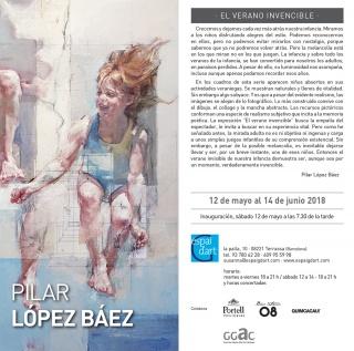 Pilar López Báez. El verano invencible
