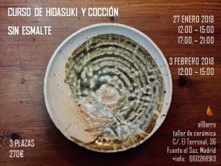 Curso de Hidasuki y cocción