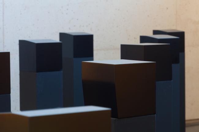Elena Asins, Menhires – Cortesía del Museo Universidad de Navarra