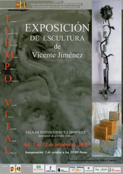 Exposición de escultura de Vicente Jimenez