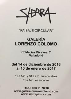 Manuel Sierra, Paisaje Circular