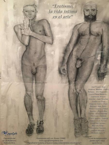 Erotismo, la vida íntima en el arte