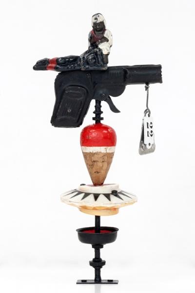 Nacho Bolea, Pistola pocket. Modelo Sanitas, 2014