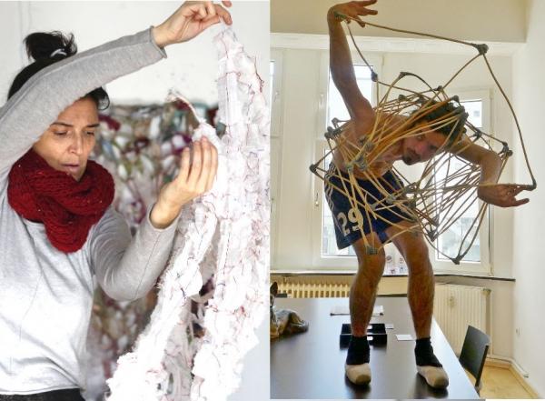 Performance Experimental: Núria Duran y Felipe González