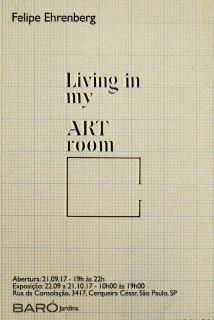 LIVING IN MY ART ROOM