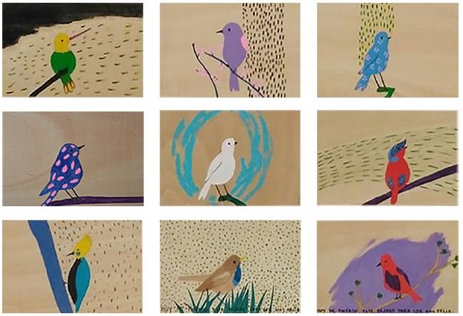 Los Pájaros y el Mar – Cortesía de Arteko Galería
