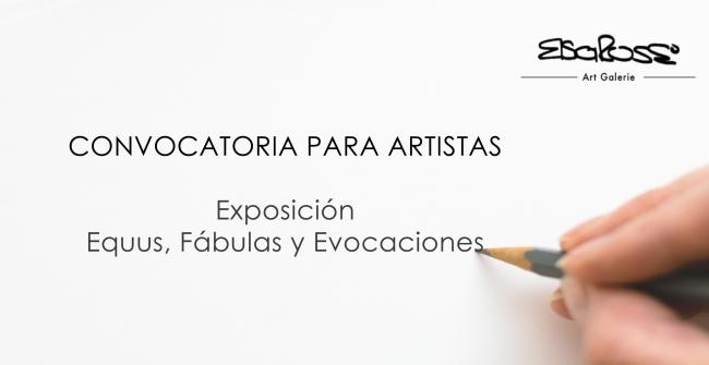 Convocatoria Exposición Equus, Fábulas y Evocaciones