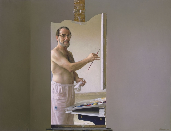 Eduardo Naranjo, autorretrato, 2003 — Cortesía de Acerca Comunicación