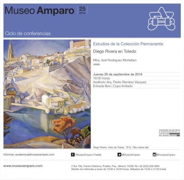 Estudios de la Colección Permanente: Diego Rivera en Toledo