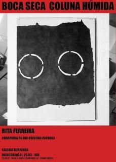 Rita Ferreira. Boca seca coluna húmida