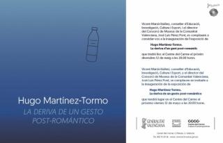 Hugo Martínez-Tormo. La deriva de un gesto post-romántico