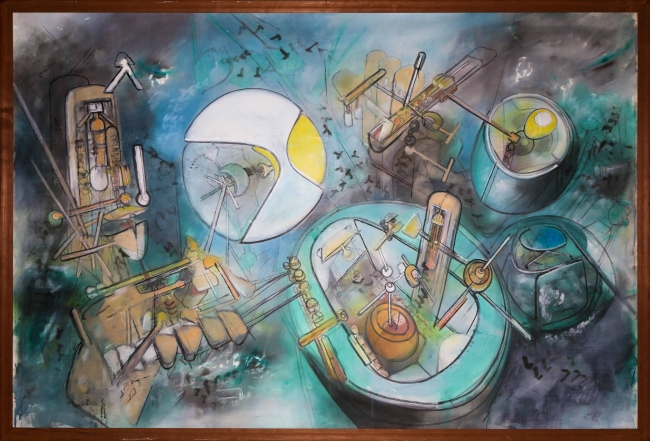 MATTA UNIVERSO | Ir al evento: 'Matta Universo'. Exposición de Pintura en Centro Cultural El Tranque / Lo Barnechea, Region Metropolitana, Chile