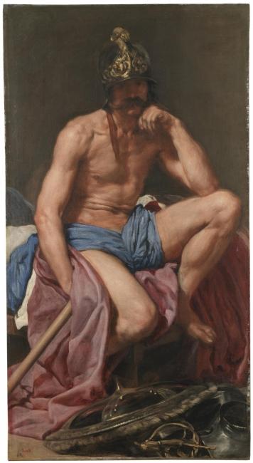 MarteVelázquez, Diego Rodríguez de Silva yÓleo sobre lienzo, 179 x 95 cm Hacia 1638Madrid, Museo Nacional del Prado – Cortesía del Museo del Prado