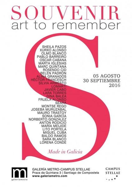 Listado de artistas participantes.