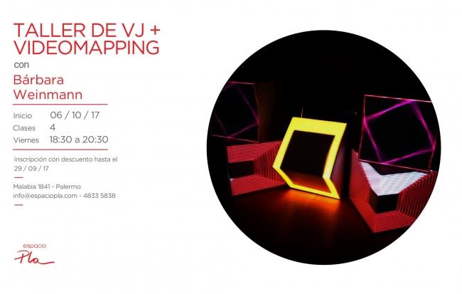 Taller de VJ + Videomapping
