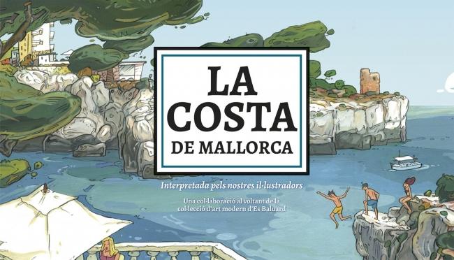 La costa de Mallorca interpretada pels nostres il·lustradors