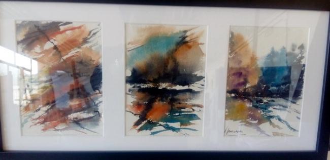 Abstracciones | Ir al evento: 'Amaia Aranzabal Balzategi'. Exposición de Arte urbano, Artesania, Pintura en Cafe Nahikari Bergara / Bergara, Guipúzcoa, España
