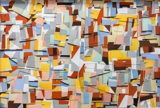 Vik Muniz, Untitled, Handmade, 2018. Mixed media, 101,6 x 152,4 cm. Courtesy of the artist and Galerie Xippas.