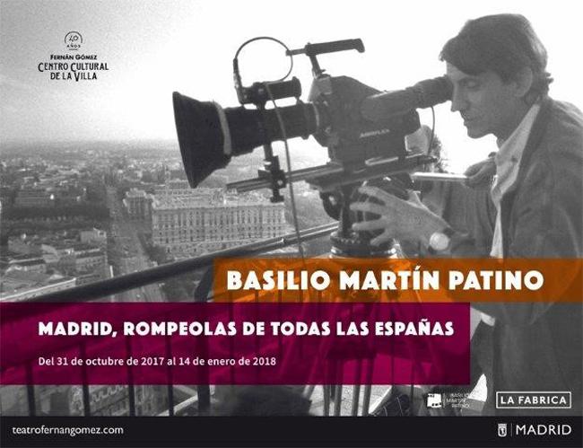 Basilio Martin Patino. Madrid, rompeolas de todas las Españas