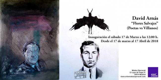 David Arnás. Flores salvajes. (Poetas vs Villanos)