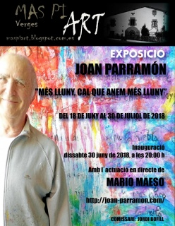 solo exhibition a Verges. Girona