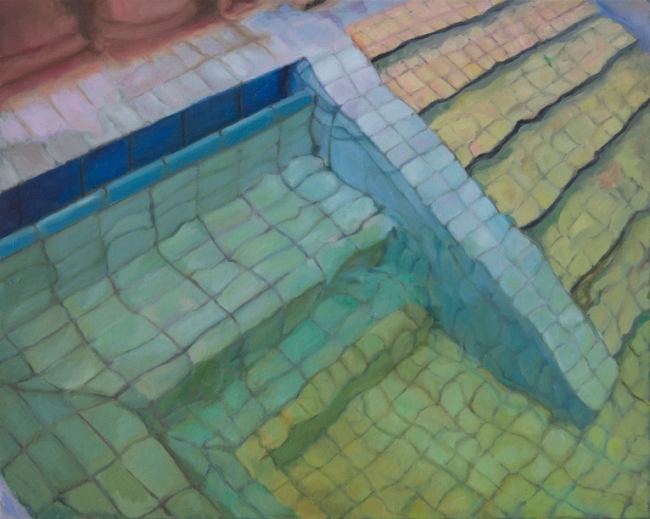 Adriana Varejão, Budapeste III, 2018. Oil on canvas, 40x50 cm., © Adriana Varejão, courtesy the artist and Victoria Miro, London / Venice