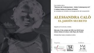 Alessandra Calò. El Jardín Secreto