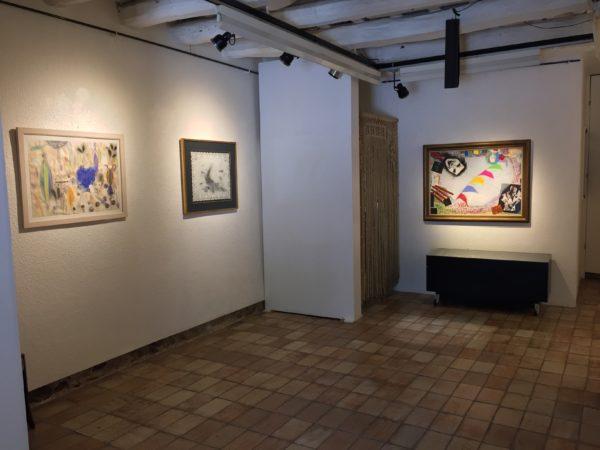 """""""39è ANIVERSARI DE AB Galeria d'Art"""" TEMPS DE MEDITACIÓ: Josep Uclés-Antoni Clavé-Alberto Laporta-Franscesc Serra- Jaume Muxart"""