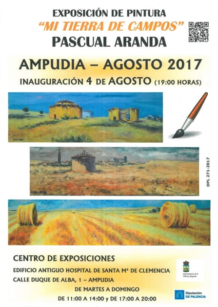 Exposición de Pascual Aranda en Ampudia