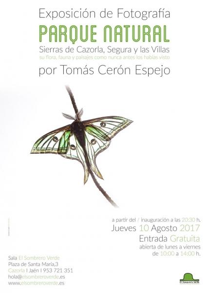 PARQUE NATURAL | Ir al evento: 'Parque Natural'. Exposición de Fotografía en El Sombrero Verde / Cazorla, Jaén, España