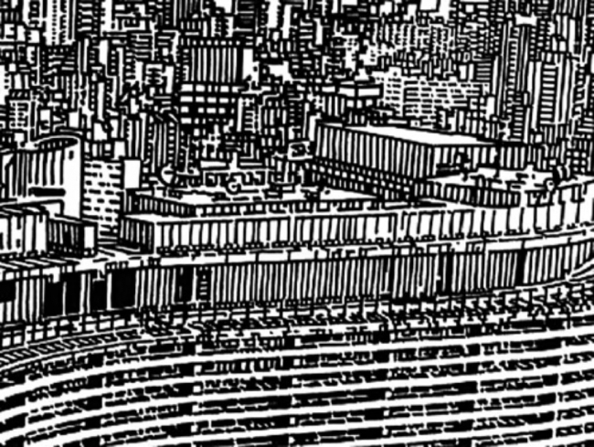 Rui Toscano, To the Mountain Top, 2004 | Video, B/W, Sound, 10.55 minutes – Cortesía de Cristina Guerra Contemporary Art | Ir al evento: 'A Preto & Branco na Colecção da Fundação PLMJ'. Exposición de Fotografía en Sociedade Nacional de Belas Artes - SNBA / Lisboa, Portugal
