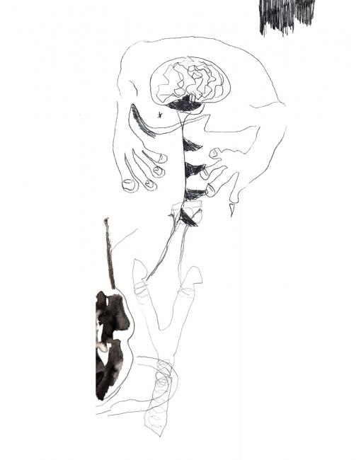 Paco Guillén – Cortesía de Omar Pascual Castillo | Ir al evento: 'doma'. Exposición en Sala de Arte Canarias Instituto Cabrera Pinto / San Cristóbal de La Laguna, Tenerife, España